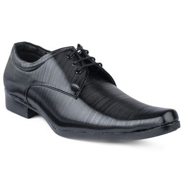 Foot N Style Black Formal Shoes _FS376