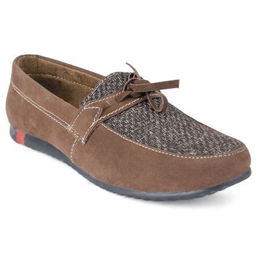 Foot N Style Brown Casual Shoes _FS385