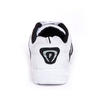 Foot n Style Synthetic Leather Sports Shoes FS 448 -White & Black