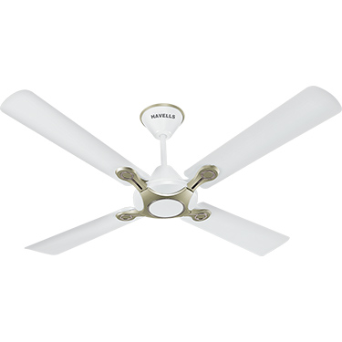 Havells Leganza 4B 1200 mm Ceiling Fan - Pearl White Silver