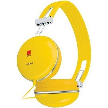 iBall HipHop Headset - Yellow