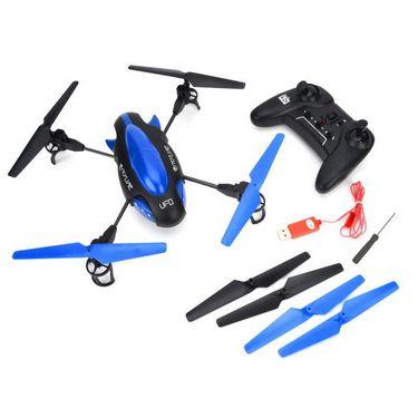 Skyline 4 Ch UFO Quadcopter with Camera - Blue