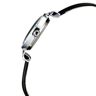 Mango People Analog Round Dial Watch For Women_mp002bk01 - Black