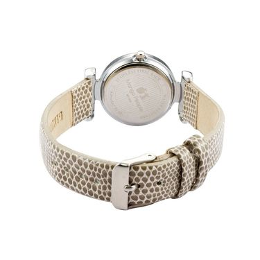 Mango People Analog Round Dial Watch For Women_mp002br01 - Brown