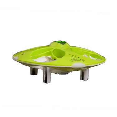 4 Ch RC Magic UFO with LED Lights - Green