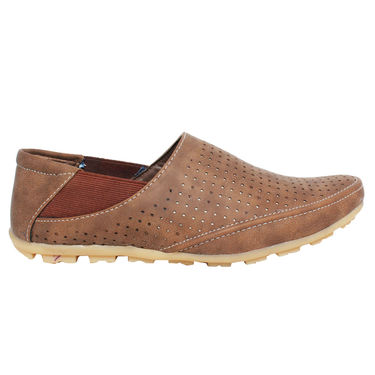Detak Synthetic Leather Loafer Shoes -Rocky11