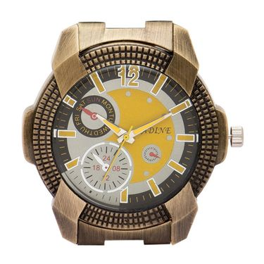 Adine Analog Wrist Watch For Men_Ad52003cy - Yellow