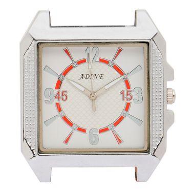 Adine Analog Wrist Watch For Men_Ad6023w - White