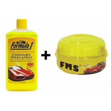 Combo Of Car Shampoo And Wax-shampoo_combo