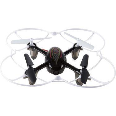 2.4G Gyro 4CH RC Quadcopter with HD CAM X11C - Black