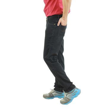 Uber Urban Cotton Jeans_ub05 - Black