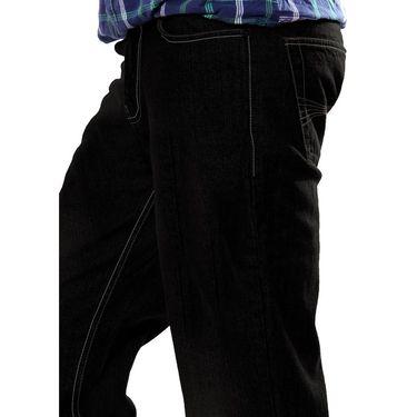 Uber Urban Cotton Jeans_ub06 - Black