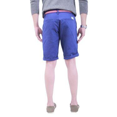 Uber Urban Cotton Shorts_ub16 - Dark Blue