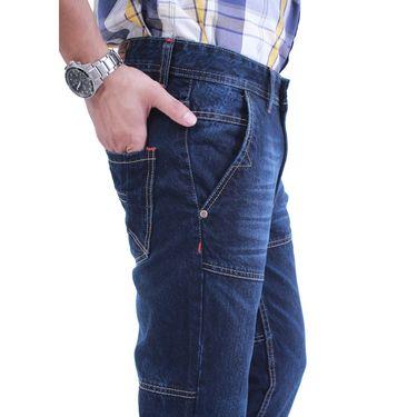 Uber Urban Cotton Jeans_ub20 - Dark Blue