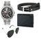 Combo of 1 Rico Sordi Mens Watch_RSD102_WBSGW + 1 Sunglass + 1 Wallet + 1 Belt