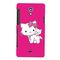 Snooky Digital Print Hard Back Case Cover For Sony Xperia T Lt30p Td12358