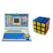 Combo of Qunxing 20 Activity  English Learner Laptop + Magic Cube 3 x 3