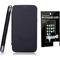Combo of Camphor Flip Cover (Black) + Screen Guard for Gionee E5