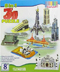 Delhi Haat 8 in 1 Educational 3D Monuments Puzzle Kit