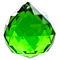 Fengshui Crystal Ball 40 mm - Green