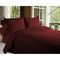 Story @ Home 300 TC 100% Cotton Maroon King Size 1 Bedsheet + 2 Pillow Cover-FE2052