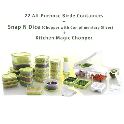 Birde 58pcs kitchen queen combo price buy birde 58pcs for Naaptol kitchen queen set