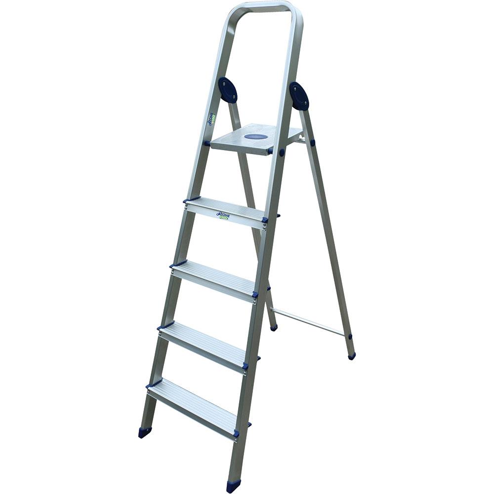 Ozone Ohz Lad A05 5 Step Aluminum Ladder Silver Price