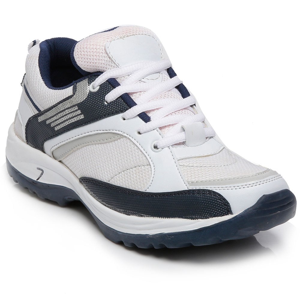 buy ten white blue mesh sports shoes mtj11 at