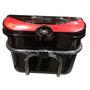 Branded Bike Luggage Side Box - Black & Red