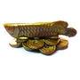 Fengshui Arrowana Fish - Golden