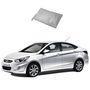 Galaxy Car Body Cover Hyundai Verna - Silver