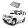 Galaxy Car Body Cover For Mahindra Scorpio - Silver