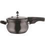 Vinod Kraft 3.5 Ltr Hard Anodised Pressure Cooker - Black