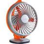 Luminous Buddy 230mm Table Fan - Royal Orange