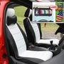 Samsun Car Seat Cover for Chevrolet Captiva - Black & White