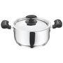 Vinod Cookware 202 Tivoli Casserole with lid 20 cm TIV-C-20
