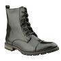Delize Leather Boots 5056-Black