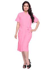 Light Pink Turkish Cotton Bathrobe_DB-BR-RTM-218