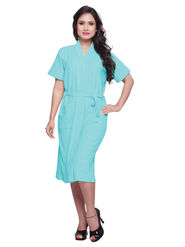 Sky Blue Turkish Cotton Bathrobe_DB-BR-RTM-211