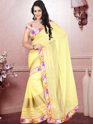 Viva N Diva Embroidered Nazneen Saree -ja05