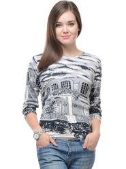 Lavennder Solid Regular Fit T-Shirt - Multicolor_LW-3871