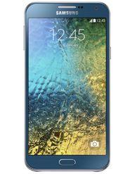 Samsung Galaxy E7 E700 Dual Sim - Blue