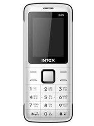 Intex Eco 205 1.8 Inch Dual Sim - White & Black