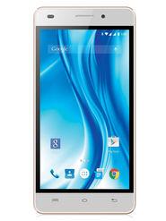 Lava X3 5 Inch Android Lollipop Smartphone - White & Gold