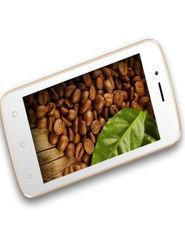 Karbonn Alfa A112 4 Inch Dual Sim Smartphone - White & Champ