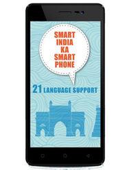 Karbonn K9 Smart 5 Inch Android (KitKat) Dual Sim 3G Calling Smartphone - Black & Gold