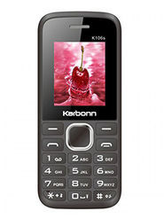Karbonn K106S 1.8 Inch Dual Sim (Black)