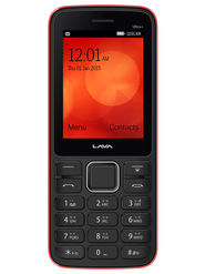 Lava KKT ULTRA PLUS 2.4 Inch Dual SIM Mobile Phone - Black Red