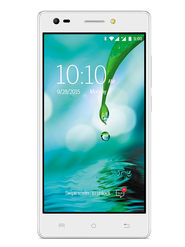 Lava V2s 5 Inch HD IPS Display Quad Core 4G Smart Phone (RAM : 2GB ROM : 8GB) - Icy White