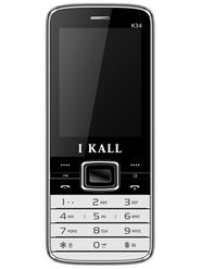 I Kall K34 Dual SIM Mobile Phone - Black